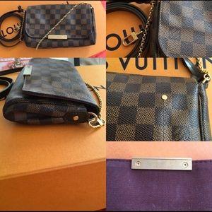 Louis Vuitton Damien Ebene Favorite PM